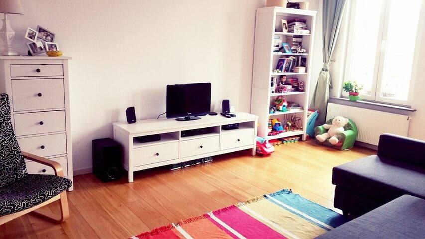 Spacious family apartment in BRX - Etterbeek - Apartment