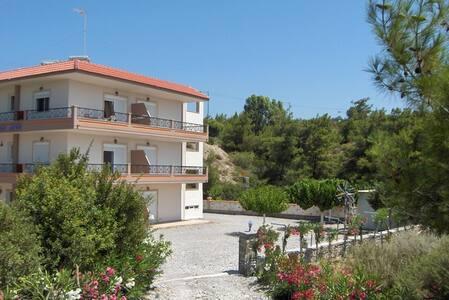Apartment in quiet area near the beach - Kiotari - Daire