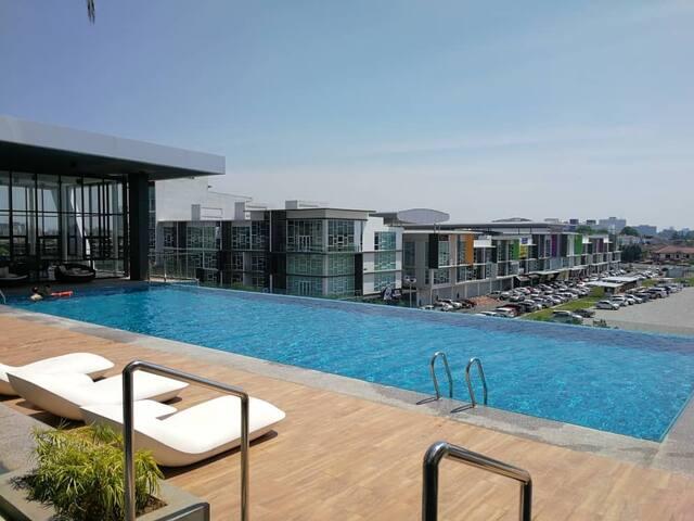 NEW! G Residences@Galacity, Kuching (舒适套房)