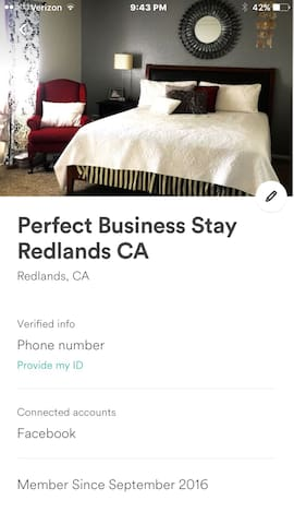 Business Travel perfect stay - Redlands - Bed & Breakfast