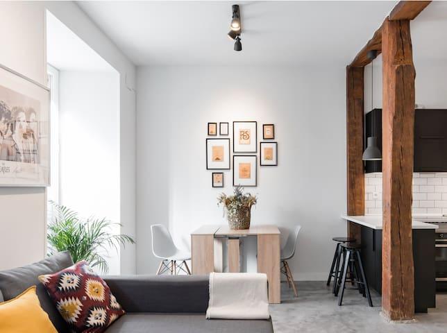 Exclusivo Loft de diseño en el Centro para 6