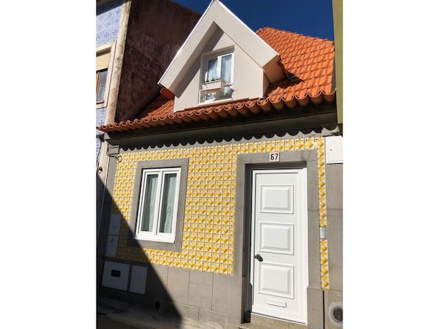 Yellow Tiled House