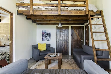 Loft Beds In Common Area w/Adjacent Bath - Jarabacoa