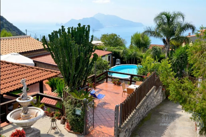 The garden on Capri, with private pool - Termini