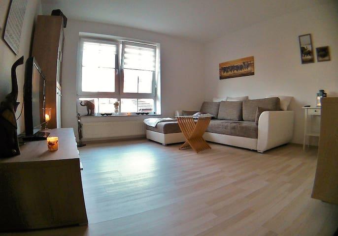 Schöne Wohnung im Zentrum von Lilienthal - Lilienthal - Apartament