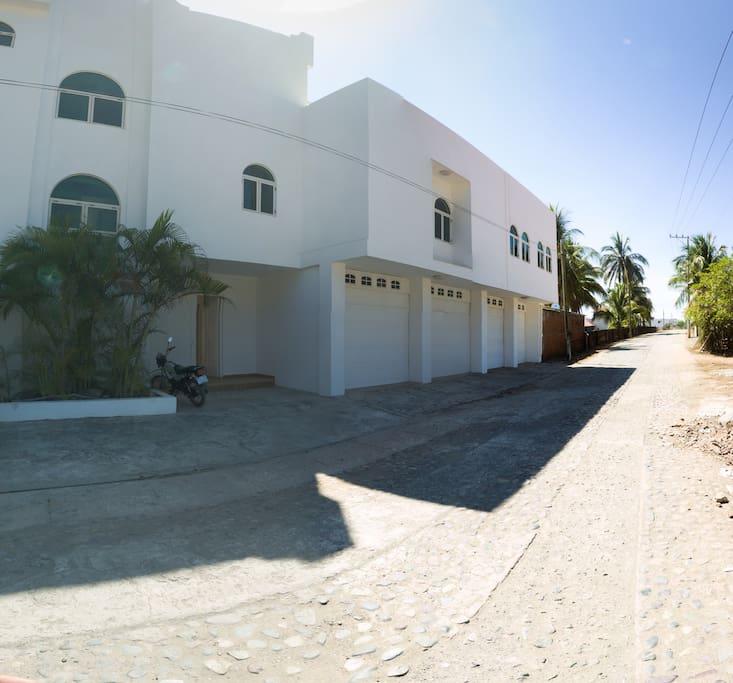 Fachada Casa Baomal