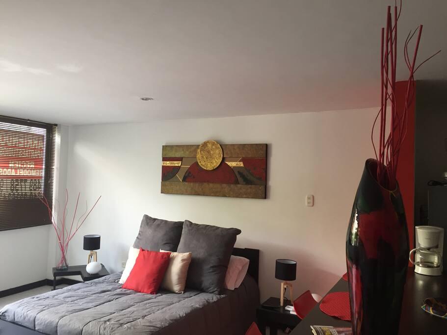 Bed Area / Habitation