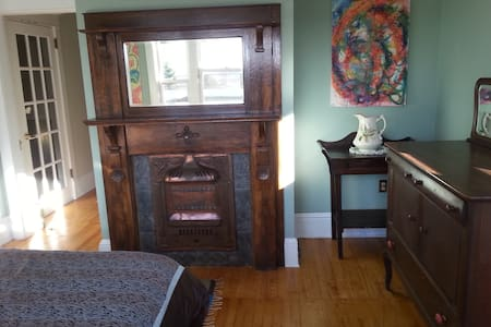Historic, restored, funky, huge apt - Saint John