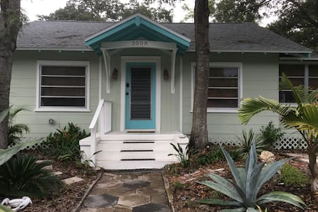 GULFPORT - Desirable Art District - Bungalow
