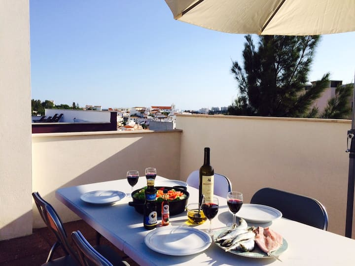 Appartement op een perfecte locatie in Ferragudo
