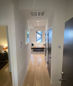 Private bedroom and bathroom in West Town