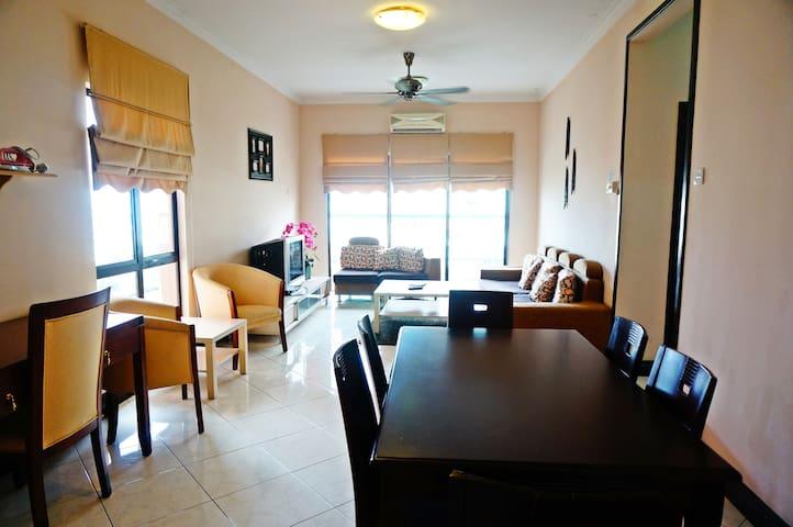 Dining Area + Living Area