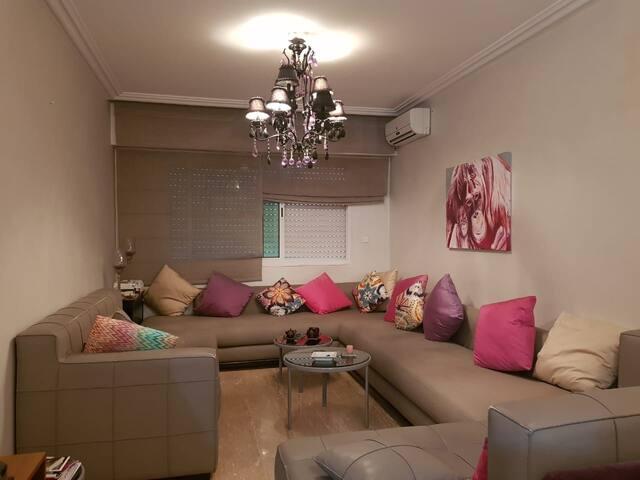 Joli Appartement entièrement équipé à louer 85M²