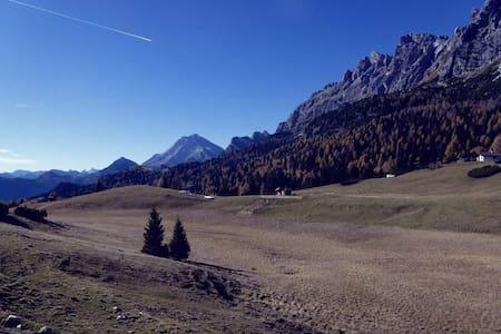 Accogliente appartamento nel cuore delle Dolomiti - Lozzo di Cadore - Lakás