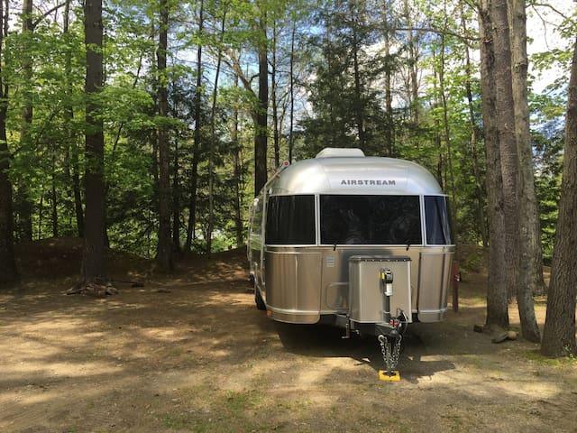 Airstream Getaway at Full Service Campground