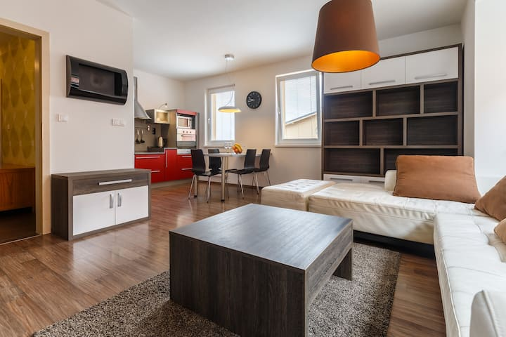 Modern flat with 2 bedrooms near to the centre