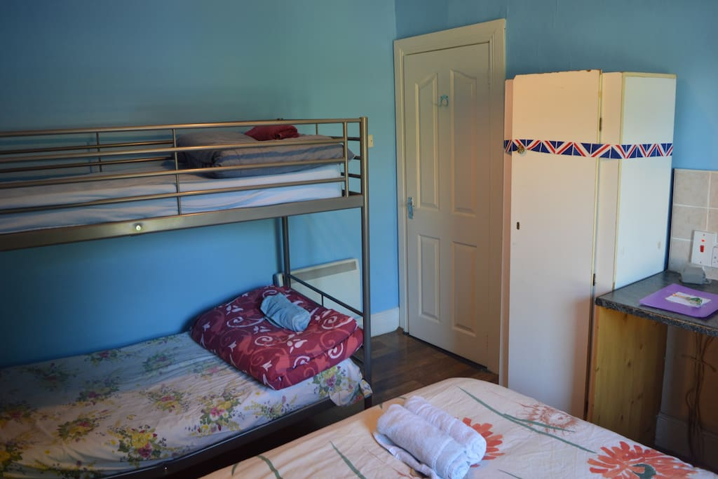 Cosy bunkbeds are perfect for your trip to Dublin