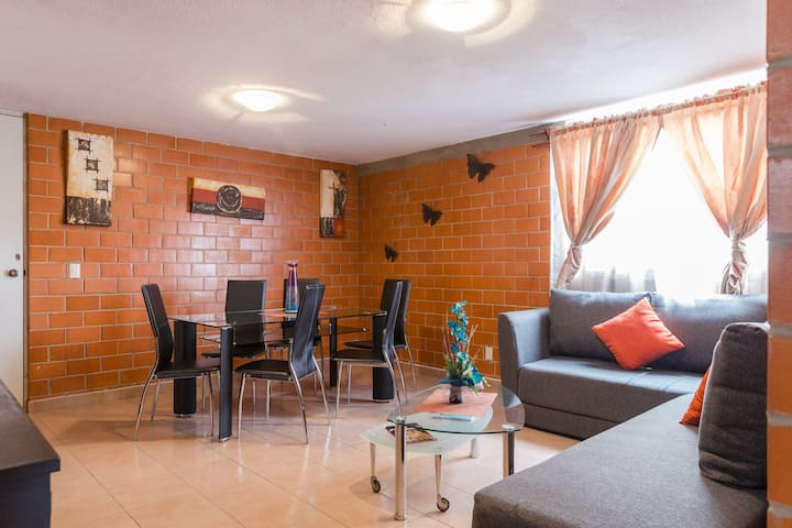 JS Newly furnished, near the center - Mexico City - Apartemen