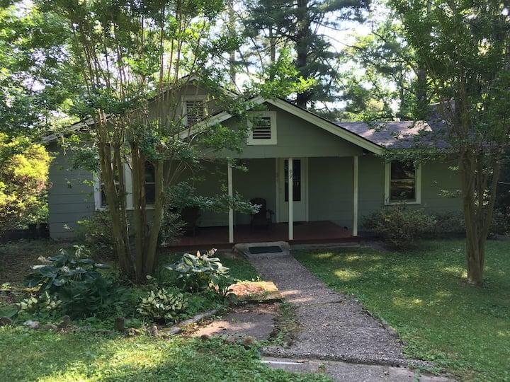 Brevard Cottage: Walk to Town-Music Center-Trails