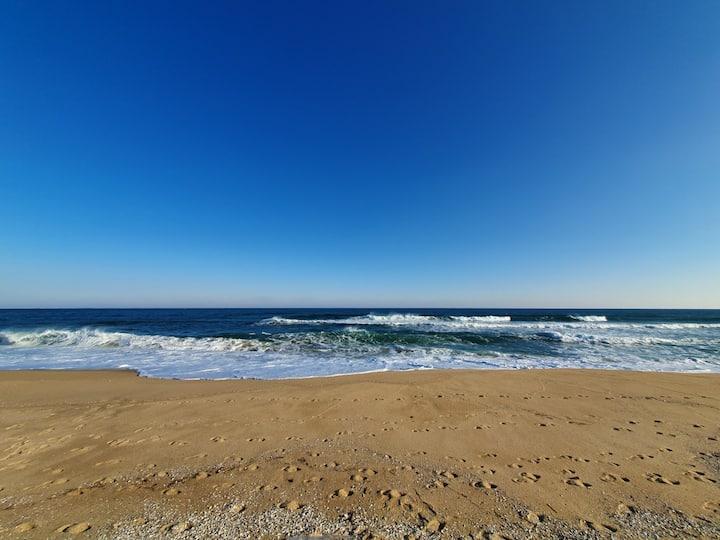 # 영진해변#오션뷰# 동해바다를 한눈에 담은 더 힐 하우스