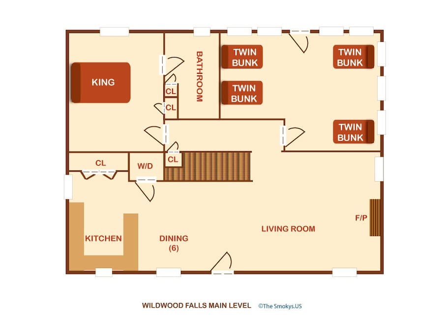 Wildwood Falls (#4)-Floor Plan