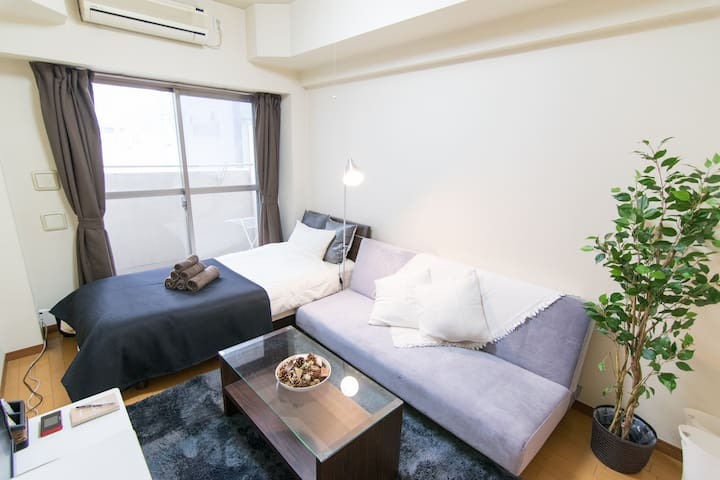 Open sale!5min to Metro & Close to TOKYO STATION#7 - Chūō-ku - Appartement