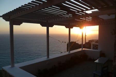 Stunning sea-view studio in Olympos (Anemos 2)