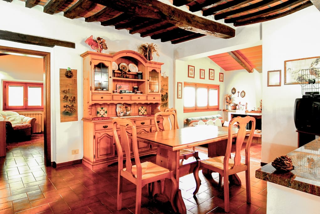 The Kitchen and Dining Area.
