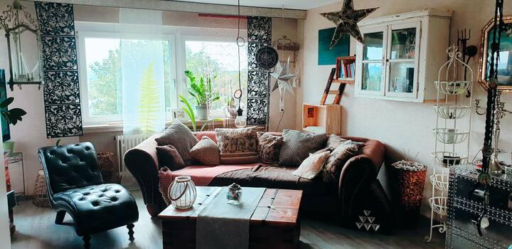 Gemütliche 3 Zimmer Wohnung mit Balkon 75qm