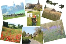 Enjoy a walk around our beautiful village...  ...and remember to ask Lauren for her printed village walks guides.