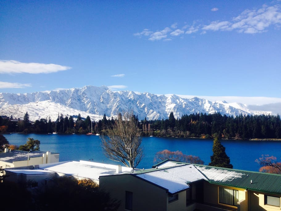 Remarkables  view