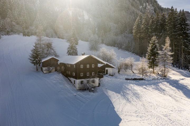 Hütte für 10 bis 15 Pers. nahe KitzbühelerAlpen