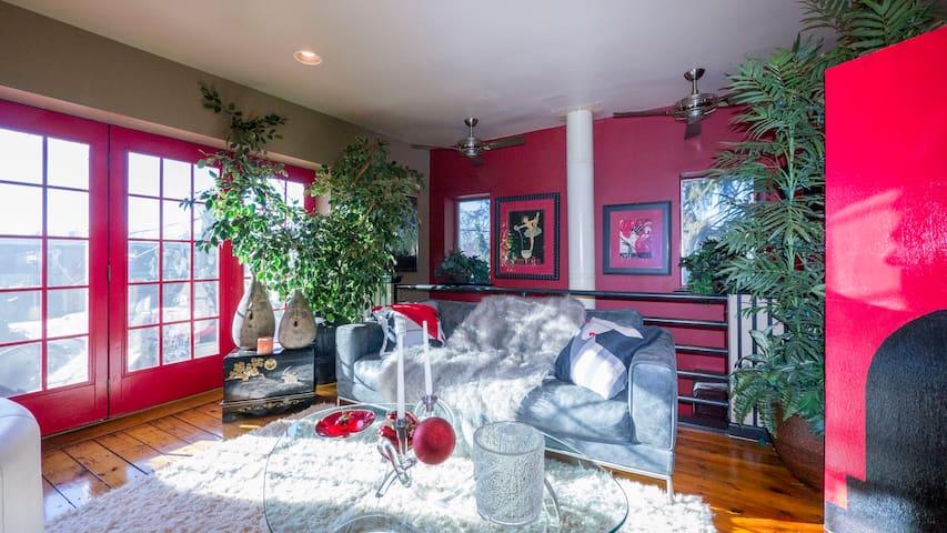 Luxury Master Bdrm/Bath En Suite w / Jacuzzi - Lancaster - Loft