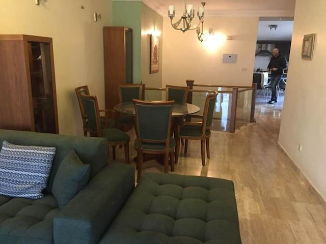Furnished roof apartment for rent