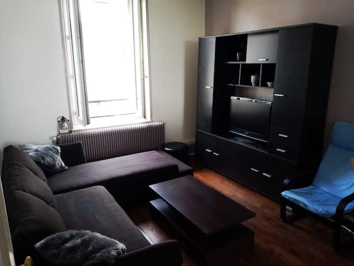 appartement  cosy et calme au bord de la meurthe