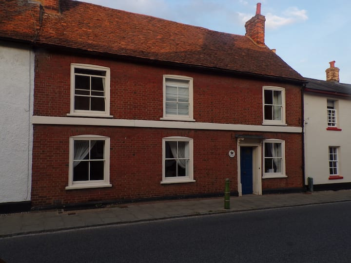17th century home in historic market town