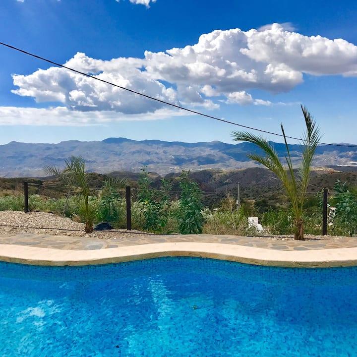 Spacious Holiday Villa near Bedar in Rural Spain