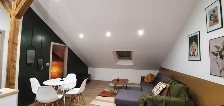 Appartement neuf 2 pièces très cosy et tout équipé