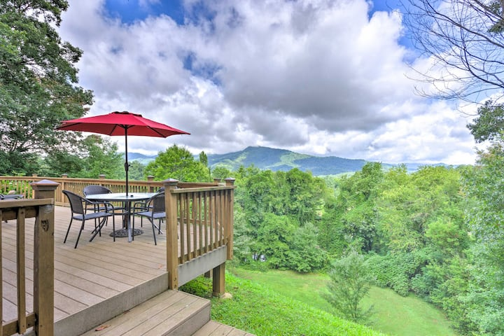Mtn-View Waynesville Home < 1 Mile to Main St