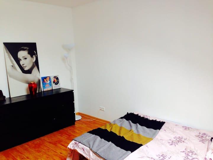 Nice and big room in single flat