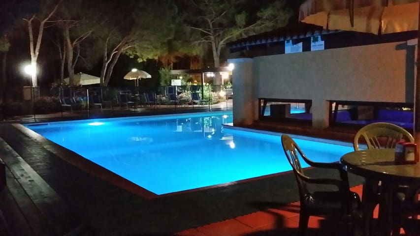 c.house pool available from 1 june