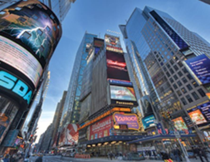 Only a few blocks from Grand Central Station and Times Square.