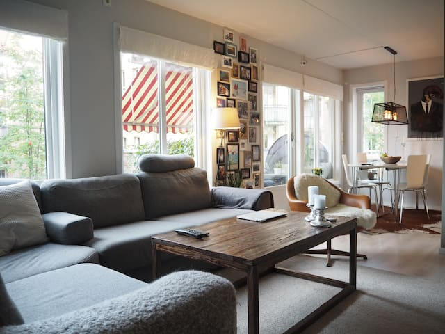 Beautiful apartment in the heart of Sagene