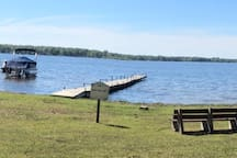 Bass Lake access/boat dock for guest use