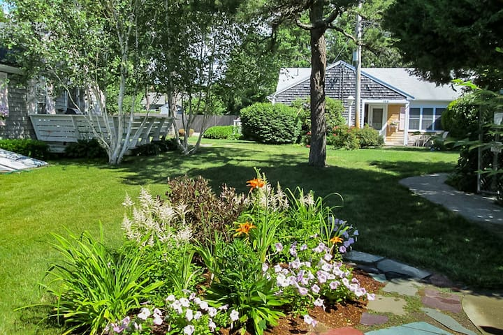 NEW LISTING! Walk to Beach & Main Street - 1BR Cottage at Captain Gosnold Village (16BC)
