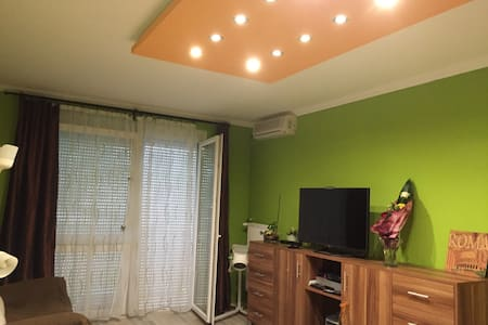 A room for two in a green environment with wifi - Budapest - Leilighet