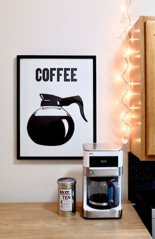 Wake up to the smell of coffee.