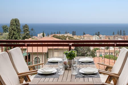 Amazing sea view apartment with large terrace