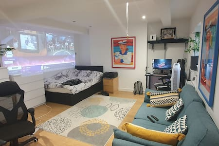 Gorgeous flat in SE22 with projector and Aircon!