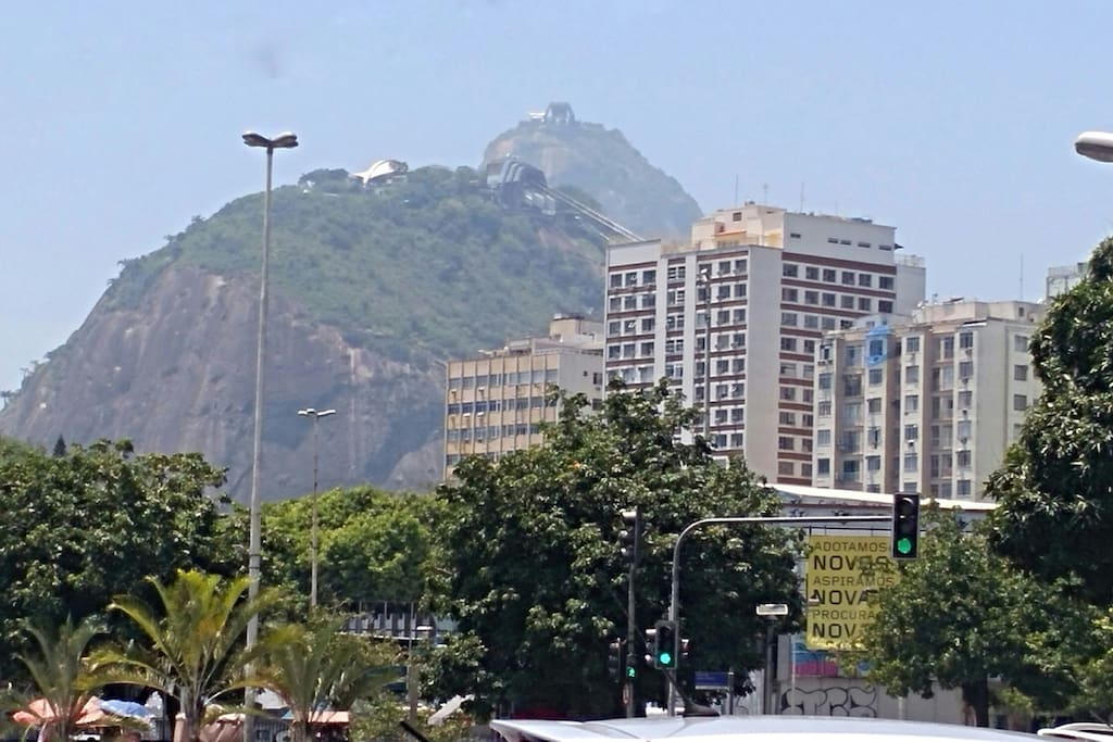 And in front of our building you can see one of the most beautiful touristic attractions in town
